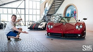 The £100 million Pagani collection!