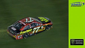 Ty Dillon sends Jones for a spin