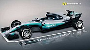 Mercedes' wild Spanish updates