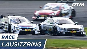 Overtakes Race 2 - DTM Lausitzring 2017