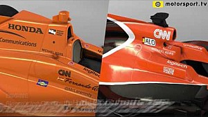 Indy and Monaco: McLaren 3D overview