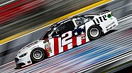 Keselowski goes for a spin during Coca-Cola 600 practice