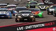 Race 1 - British GT - Snetterton