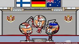 El GP de Mónaco 2017 de F1 según 'Los MiniDrivers'