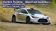 Hayden Paddon - Seb Marshall, Hyundai i20 Coupe WRC - PET rally Finland 2017