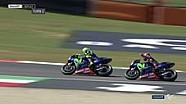 Valentino Rossi dan Maverick Vinales hampir bertabrakan di Mugello