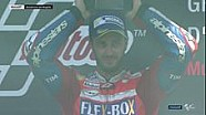 Perayaan podium MotoGP Itaila