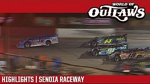 World of Outlaws Craftsman late models Senoia Raceway June 3, 2017 | Highlights