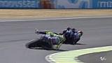 Kecelakaan Valentino Rossi di lap terakhir Le Mans