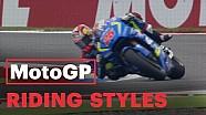 Perkembangan riding style pembalap MotoGP