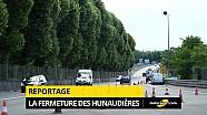 La fermeture des Hunaudières à la circulation!
