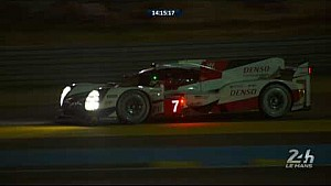 24 Hours of Le Mans: Toyota #7 hits trouble and retires