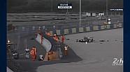 24 Heures du Mans 2017 - Crash d'Emmanuel Collard dans la #28