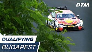 DTM Budapest 2017 - Qualifying (Race 2) - Live