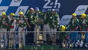 Le Mans 24 Jam 2017: Podium