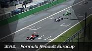 Formula Renault Eurocup : Monza 1. yarış özet