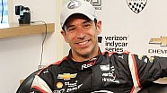 Verizon P1 Award winner Helio Castroneves news conference