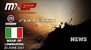 Los mejores momentos del GP de Lombardía de MXGP 2017