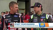 Clint Bowyer & Kurt Busch on NBC's The Today Show - June 28, 2017
