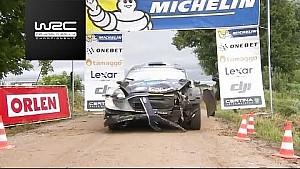 WRC 2017 Polonya Rallisi: Etap özeti 18-21