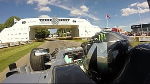 Nico Rosberg im W05 in Goodwood