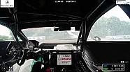 Caméra embarquée de l'accident de Gary Paffett au Norisring en caméra embarquée
