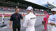 Avusturya GP Sıralama - Podyum Konuşması