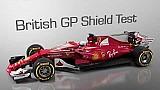 Teste com 'escudo' no GP da Grã-Bretanha