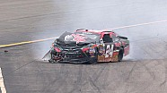 Hard wreck for Lupton in qualifying