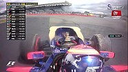 2017 Britanya GP - Toro Rosso'lar Çarpıştı ve Güvenlik Aracı