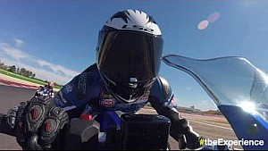 4th Yamaha VR46 Master Camp - On-board video: Misano world circuit