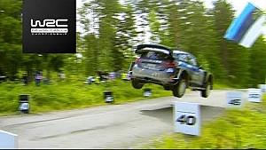 Rallye de Finlandia: 49 metros de salto