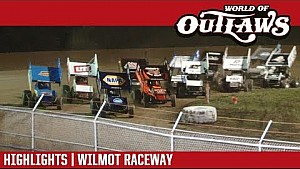 World of Outlaws Craftsman Sprint Cars Wilmot Raceway July 29, 2017 | HIGHLIGHTS