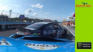 In-car: Watch Kevin Harvick's pit-road wreck from his own eyes