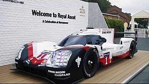 Porsche at Royal Ascot 2017. A different kind of horsepower.