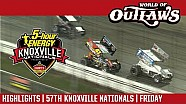 World of Outlaws Craftsman sprint cars Knoxville raceway August 11, 2017 | Highlights