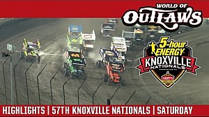 World of Outlaws Craftsman sprint cars Knoxville Nationals August 12, 2017 | Highlights