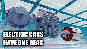 Warum E-Autos nur 1 Gang haben
