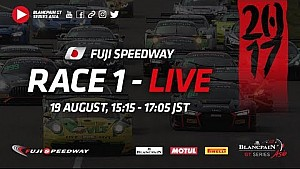 Live - Fuji - Race 1 - Blancpain GT series Asia 2017