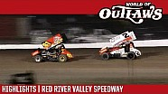 World of Outlaws Craftsman sprint cars Red River Valley speedway August 19, 2017 | Highlights