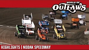 World of Outlaws Craftsman sprint cars Nodak Speedway August 20, 2017 | Highlights