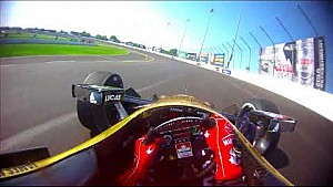 Dans le casque de James Hinchcliffe à Gateway