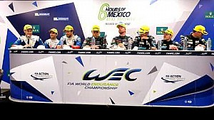 2017 6 hours of Mexico - Post-race press conference class winners