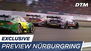 3 lugares para peleaer DTM Nürburgring 2017