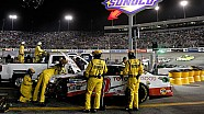 Nascar's Scott Miller discusses pit-road incident