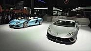 Premiere: Aventador S Roadster