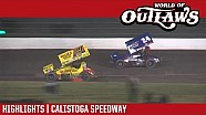 World of Outlaws Craftsman sprint cars Calistoga speedway September 15, 2017 | Highlights