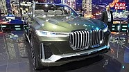 IAA 2017 Video: BMW Concept X7 iPerformance
