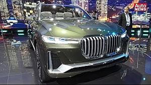 IAA 2017 Video: BMW Concept X7 iPerformance