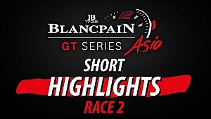 Blancpain GT Series Asia - Shanghai - Race 2 - Short highlights